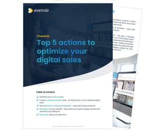 checklist-optimize-sales