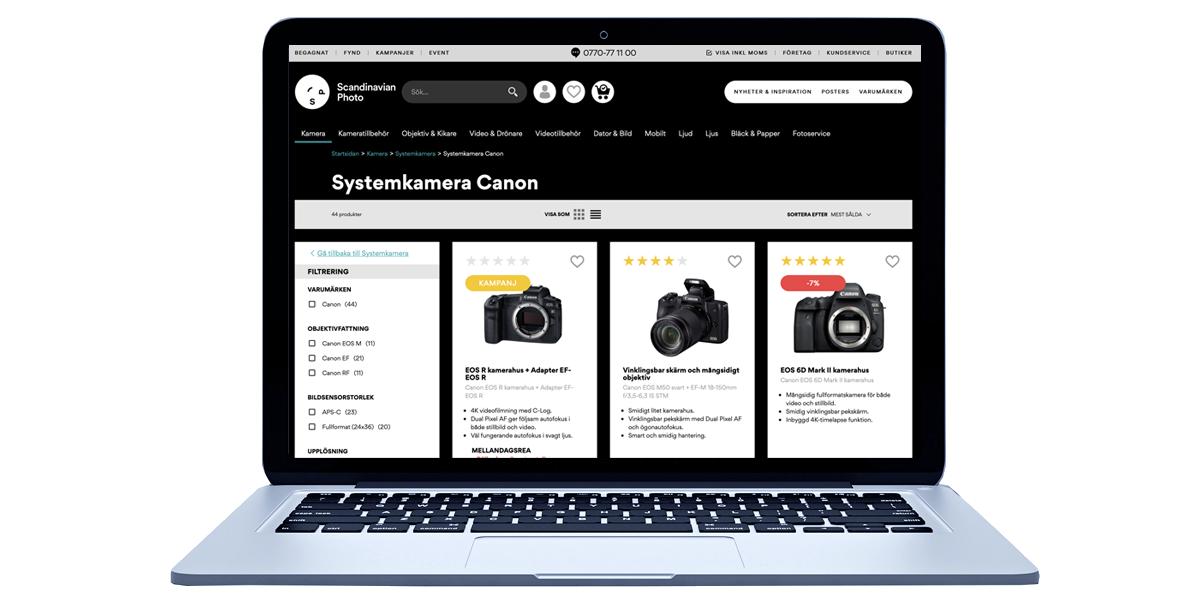 Scandinavian Photo launch omni-channel solution