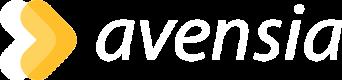Avensia logo white